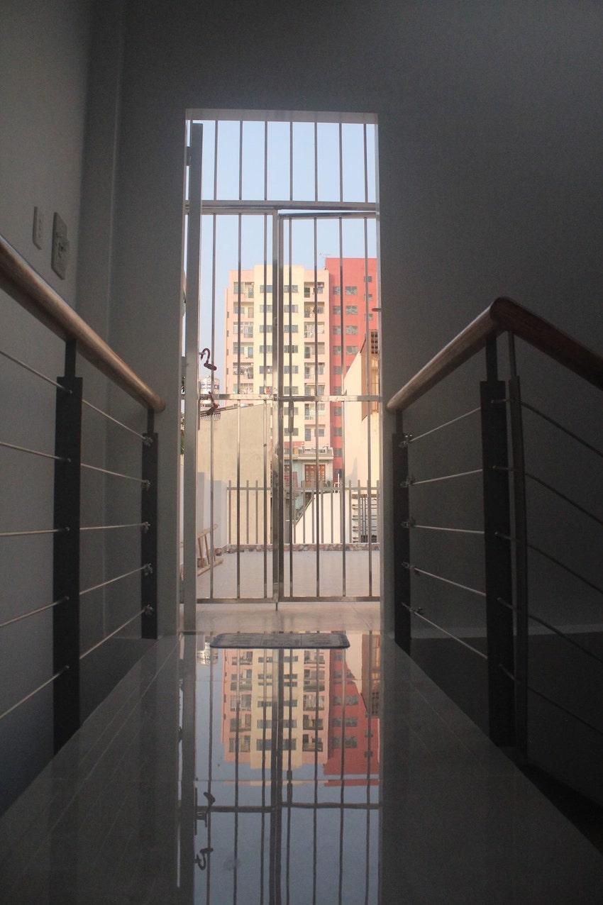 Tầng trên cùng và cầu thang