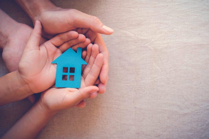 vay mua nhà đất trả góp và tài sản thế chấp chính nhà mua